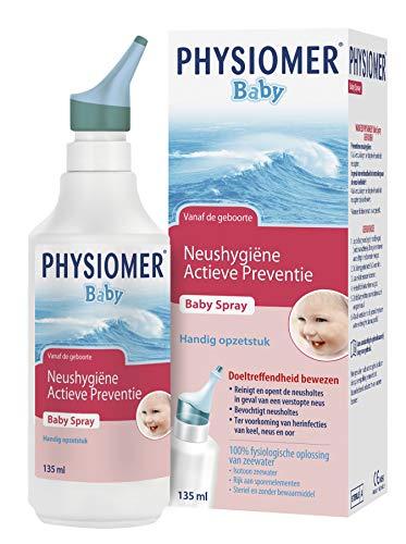 Physiomer Baby Spray - Reiniging van de neusholtes bij zuigelingen - 135 ml - Neusspray