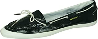 Tretorn Sunniva Patent Womens Leather Deck/Boat Shoes