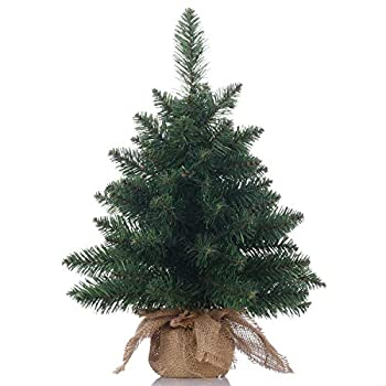 Topro Christmas Tree 20 inch,Miniature Pine Tree,Pine Artificial Christmas Tree,Great for Tabletop or Desk-20 inch 50cm