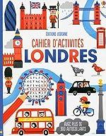 Cahier d'activités - Londres de Lucy Bowman