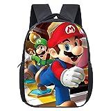 Simmpu Mario Bros Mochilas Escolares Mario Bros Mochila Casual Juego de mochila escolar Mario Bros...