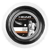 Head Sonic Pro Rollo Cordajes de Raquetas de Tenis, Adultos Unisex, Negro, 1.30 mm