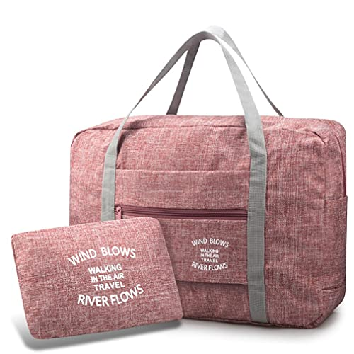 SPAHER Ligera Bolsas de Viaje Mujer Hombre Fin de Semana Plegable Ultraligera Equipaje de Mano Bolsa Maternidad Bolsa Hospital Duffle Bag 30L