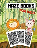 Maze Books For Kids: Amazing Mazes For Kids Activity Book For Every Maze Master Easy Mazes For Kid Ages 4 - 12 Puzzle For Spatial Awareness Critical Thinking and Problem Solving Skills