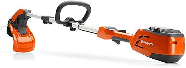Husqvarna 115iL, 14 in. 40-Volt Cordless Straight Shaft String Trimmer (Battery included) (Renewed)