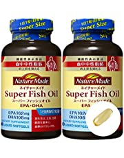 大塚製薬 ネイチャーメイド スーパーフィッシュオイル(EPA/DHA) 90粒 × 2本セット [機能性表示食品]