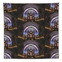 ノートルダム大聖堂3 タペストリー壁掛けリビングルーム寝室寮部屋家の装飾ポスター