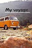 my voyage Note Notebook,Covermason Voyage Journal Journal Notebook PU Vintage bloc-notes vide Sketchbook