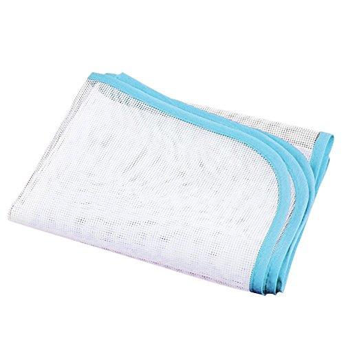 Ogquaton Novedad Cubierta de Tela Proteger Almohadilla de Planchado Resistente al Calor Prenda de Planchar Tabla aleatoria Rentable