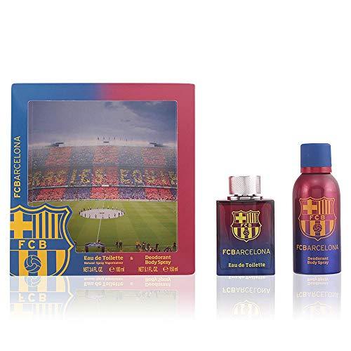 FC BARCELONA Coffret Cadeau Homme Eau de Toilette 100 ml + Déodorant 150 ml