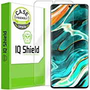 IQ Shield Screen Protector Compatible with Samsung Galaxy S21 Ultra (6.8 inch)(3-Pack)(Case Friendly)[Works with Fingerprint Scanner] Anti-Bubble Clear Film