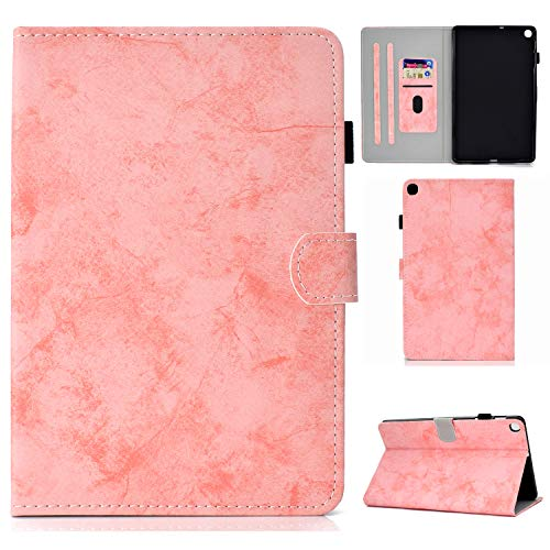 Jajacase Galaxy S6 Lite 10.4 2020 Case,SM-P610/P615 Tablet Case,PU Leather Multi-Angle Viewing Folio Stand Cover Case for Samsung Galaxy TAB S6 Lite 10.4 2020 SM-P610/P615-Pink
