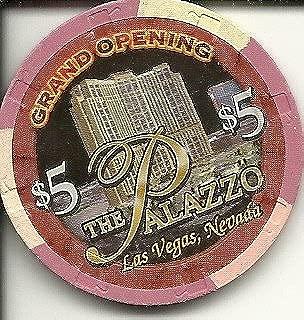 $5 palazzo grand opening las vegas casino chip