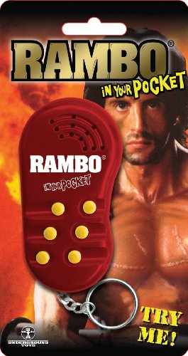 Rambo in your Pocket Voices Keyring