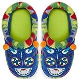 Dearfoams Unisex Kid's Novelty Clog, Ocean Blue, 5-6 Toddler