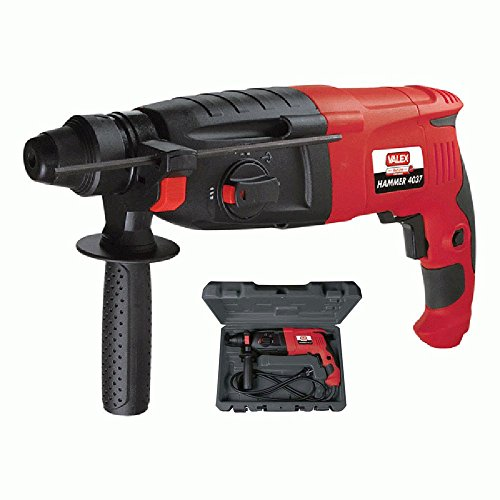 VALEX - 4037 SDS-PLUS MARTELLO HAMMER 800W PERFORATORE DEMOLITORE BATTENTE + ACCESSORI