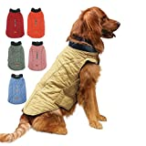 EMUST Dog Jackets for Winter, Thick Dog Clothes for Medium Dogs Boy, Coats for Dogs Winter, Dog Coats for Cold Weather, M