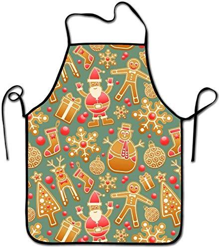 Eileen Powell Schürzen für Frauen/Männer Personalisierte Weihnachtsmarkt Grill Kellnerin Küche Funny Chef Schürze