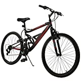 Snow Shop Everything Unisex Adult 26' Mountain Bike 18 Speed Hybrid Bicycle Shimano & Full...