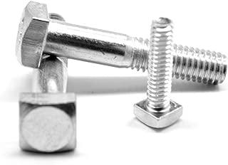 Small Parts FSC516150SHB Grade A Steel Square Head Bolt 5//16-18 Thread Size 1-1//2 Long Pack of 10