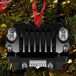 black jeep ornament