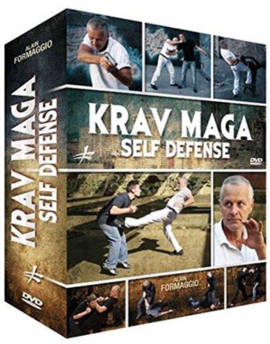 Budoten 3 Krav Maga Self Defense DVD's Geschenk-Set