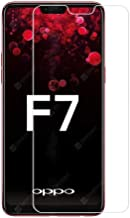 OPPO F7 9H Hardness 0.33mm Thin 2.5D ARC Edge Anti-Explosion Tempered Glass Screen Protector Compatible for Oppo F7