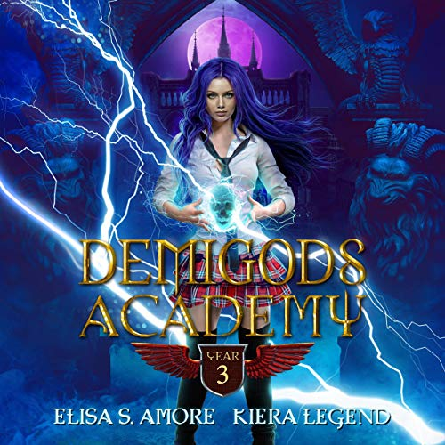 Demigods Academy: Year Three  By  cover art