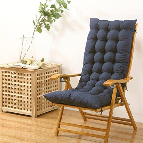 Coussin De Chaise Berçant,Coussin De Banc Rectangle Tapis De Fenêtre De Compartiment Meubles Patio Coussin De Chaise Pliante De Salon F 48x125cm(19x49inch)