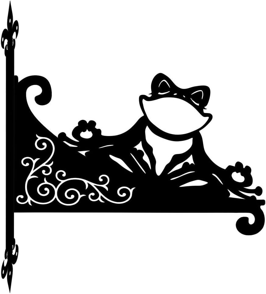 Yoga specialty shop Frog Ornamental Scroll Bracket Hanging Ranking TOP16
