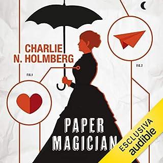 Paper Magician audiobook cover art