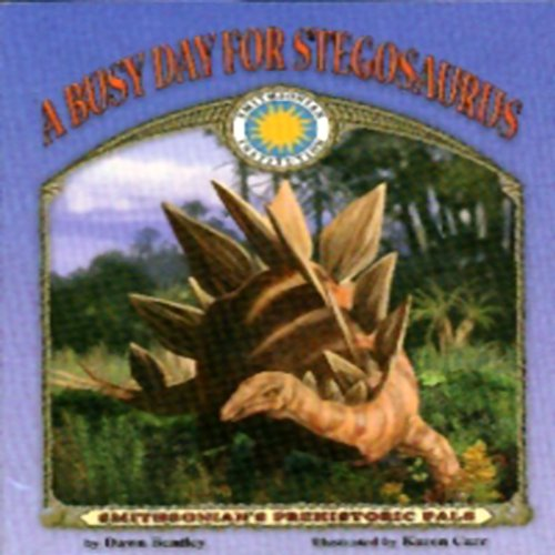 A Busy Day for Stegosaurus audiobook cover art