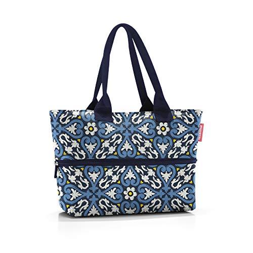 Reisenthel Unisex shopper e1 schoudertas, floral 1, 12 liter