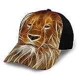 Zhgrong Programma Grafico di Modifica delle Immagini Lion Cappello 3D Unisex con Cappuccio Sportivo Regolabile di Alta qualità