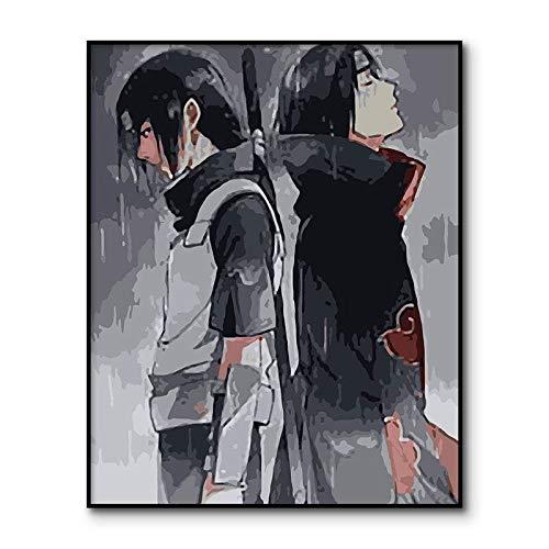 Puzzle 1000 piezas Naruto Anime Imagen Digital puzzle 1000 piezas clementoni Rompecabezas educativo de juguete para aliviar el estrés intelectual Rompecabezas de juguete de de50x75cm(20x30inch)