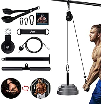 KMM LAT Pull Down Cable Pulley Attachment Home Gym System