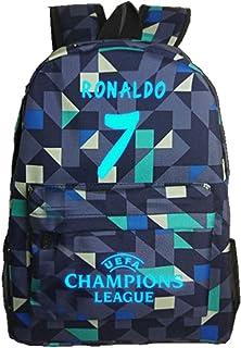 93d8479cbb Enjoyfeel Cadeau Lumineux de Fans de Ronaldo de Sacs à Dos, Sac à  Bandoulière d