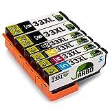 JARBO 33XL Compatibles Epson 33 XL Cartouche d'encre Compatible avec Epson Expression...
