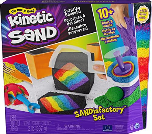 Kinetic Sand Sandisfactory Set für...