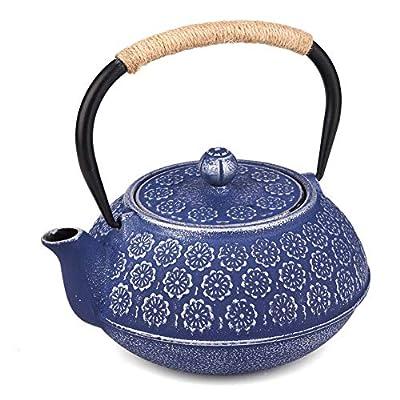 Best Théière japonaise en fonte avec infuseur à thé en acier inoxydable 1000 ml