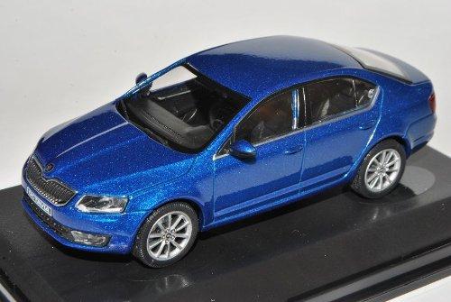 Abrex Skoda Octavia III Limousine Blau Race Metallic Typ 5E Ab 2012 026KD 1/43 Modell Auto mit individiuellem Wunschkennzeichen