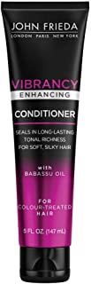 John Frieda John Frieda Vibrancy Enhancing Conditioner, 5 Fluid Ounce, Vibrancy Protecting, High Shine, For Color Treated ...