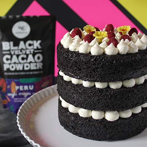 Weirdo Good Black Velvet Cacao Powder – Organic, Allergen-Free,...