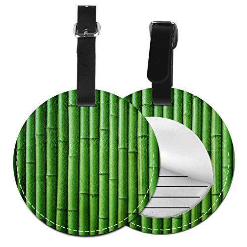 Etiquetas para Equipaje Bolso ID Tag Viaje Bolso De La Maleta Identifier Las Etiquetas Maletas Viaje Luggage ID Tag para Maletas Equipaje Bambú 24