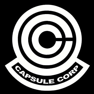 Dragon Ball Z Capsule Corp Decal Sticker for Room Car Window Laptop (5.5