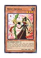 遊戯王 英語版 PRIO-EN093 Rose Archer 薔薇の聖弓手 (レア) 1st Edition