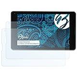 Bruni Schutzfolie kompatibel mit Medion LIFETAB P8514 MD60176 Folie, glasklare Displayschutzfolie (2X)