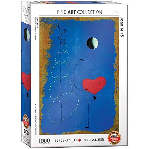 EuroGraphics 'Joan Miro Ballerina II Puzzle (Pezzi, Multicolore)