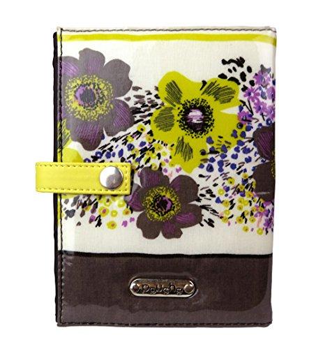 ポーチェ(pouche) ブックカバー 母子手帳カバー A6サイズ 文庫本サイズ (イエロー)