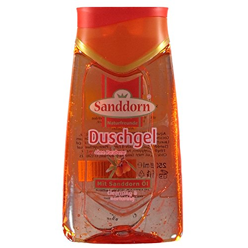 Naturfreunde Duschgel mit Sanddorn-Öl (250 ml)